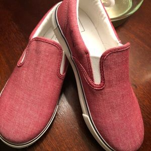 Kids Oxford Slip-on Sneakers